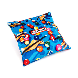 Snooker Toiletpaper Cushion Cover