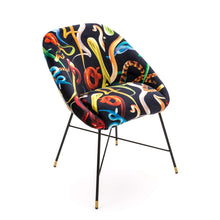 Load image into Gallery viewer, Toiletpaper Padded Chair Snakes