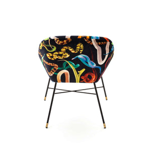 Toiletpaper Padded Chair Snakes