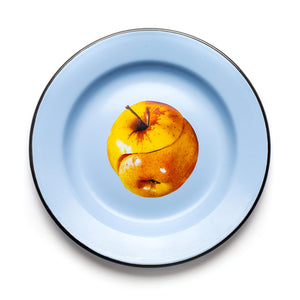 Seletti Wears Toiletpaper Enamel Plate - Apple
