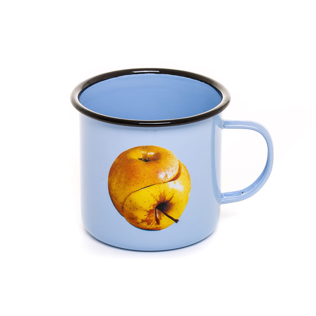 Toiletpaper Enamel Mug Apple