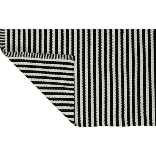 PARIS Recycled Cotton Rug black/white