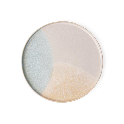 Round Side Plate Mint  / Nude