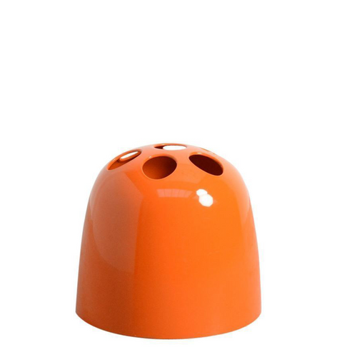 Dedalo Orange Umbrella Stand By Emma Gismondi For Artemide 1976