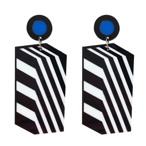 All Lined Up Earrings by Camille Walala