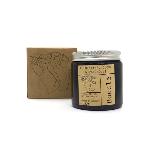 Clementine, Clove & Patchouli Soy Wax Candle (120 ml)