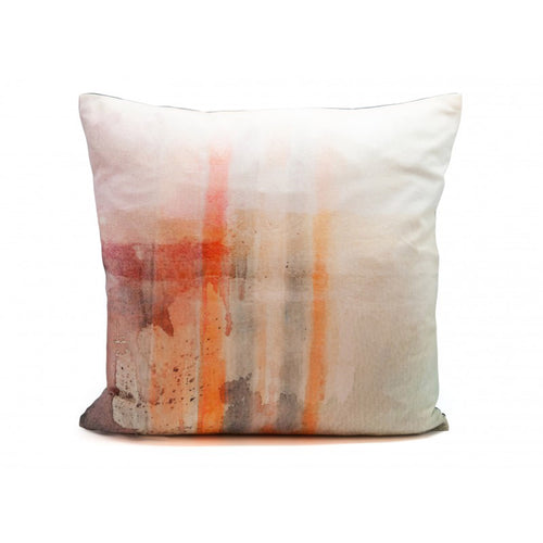 Tom Watercolour Cotton Cushion