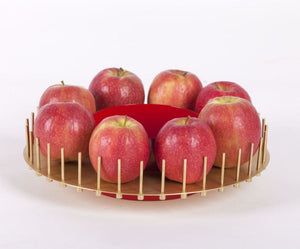 Elementa Brass Fruit Holder