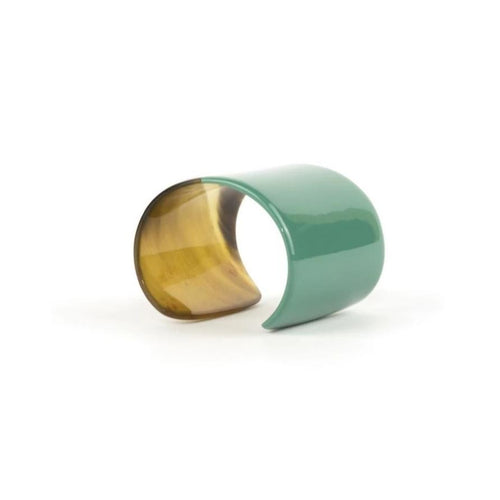 Lacquered Natural Horn Cuff
