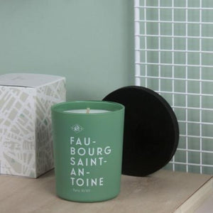 Fragranced Candle Faubourg Saint Antoine - Wax & Wood by Kerzon Paris