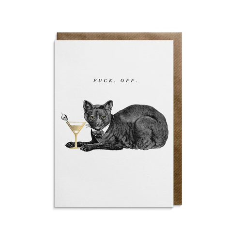 Cat-titude Greeting Card