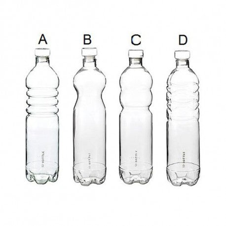 Estetico Quotidiano Borosilicate Glass Bottles