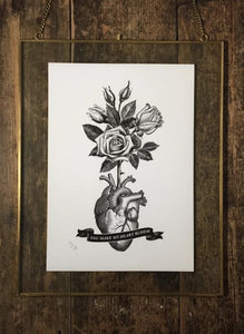 Heart Bloom Limited Edition Print