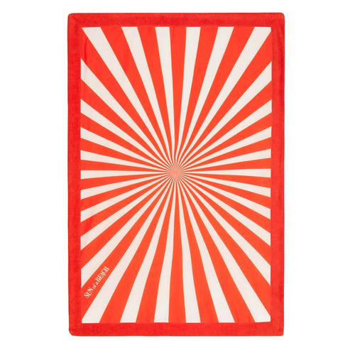 Sunburst Signature Beach Towel