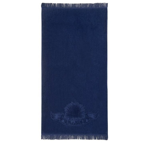 Just Navy Monochrome Beach Towel