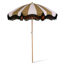 Load image into Gallery viewer, Beach Umbrella Classic Nude and Mustard