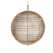 Load image into Gallery viewer, Rattan Hanging Bowl Chair Natural Bohemian