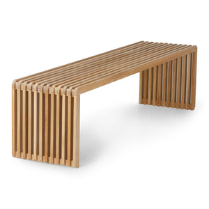 Slatted Bench Element Large