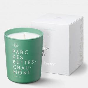 Fragranced Candle Parc des Buttes-Chaumont - Cedar & Sandalwood by Kerzon Paris