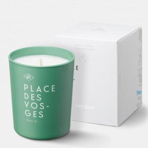 Fragranced Candle Place des Vosges - Rose & Geranium by Kerzon Paris