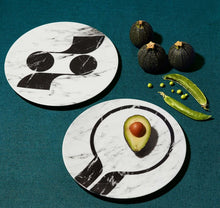 "Load image into Gallery viewer, ""Rue de Paradis"" Box Of Six Dinner Plates"