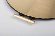Load image into Gallery viewer, Satin Round Brass Tray