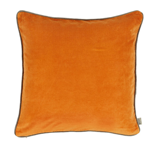 Large Velvet Square Cushion Cover And Feather Inner