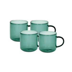 Lasi Set Of Four Glass Coffee Cups
