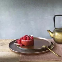 Load image into Gallery viewer, Porcelain Tyche Dessert Plate