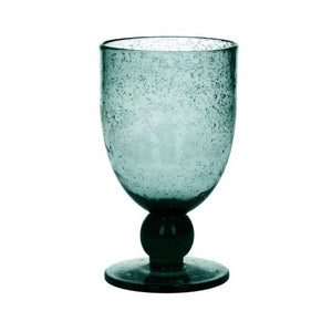 """Victor"" Wine Glass - Teal"