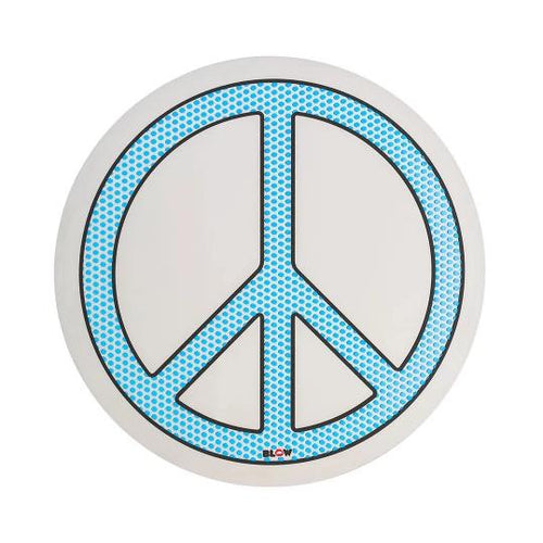Blow Round Mirror - Peace