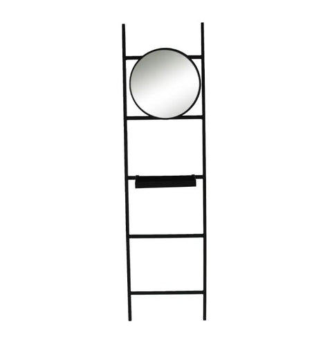 Metal Coat Stand With Mirror