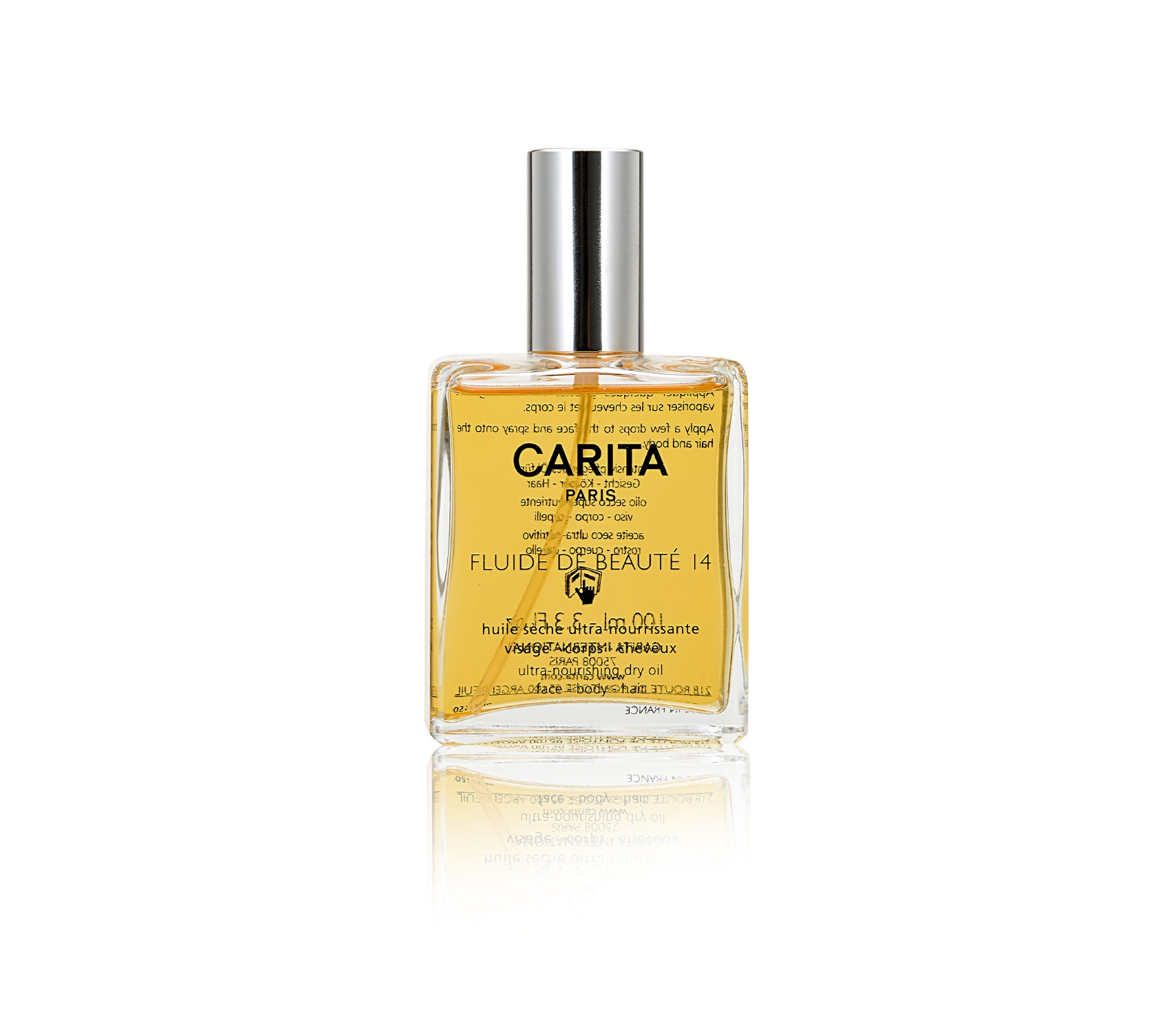 Fluide De Beauté 14   Ultra-Nourishing Dry Oil
