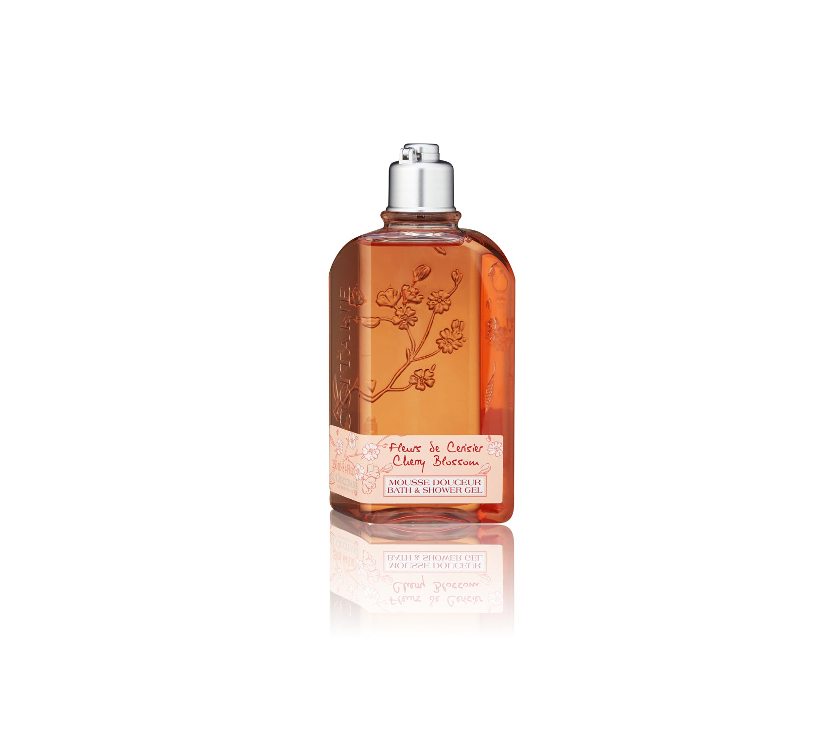 Fleurs De Cerisier Cherry Blossom Mousse Douceur Bath & Shower Gel