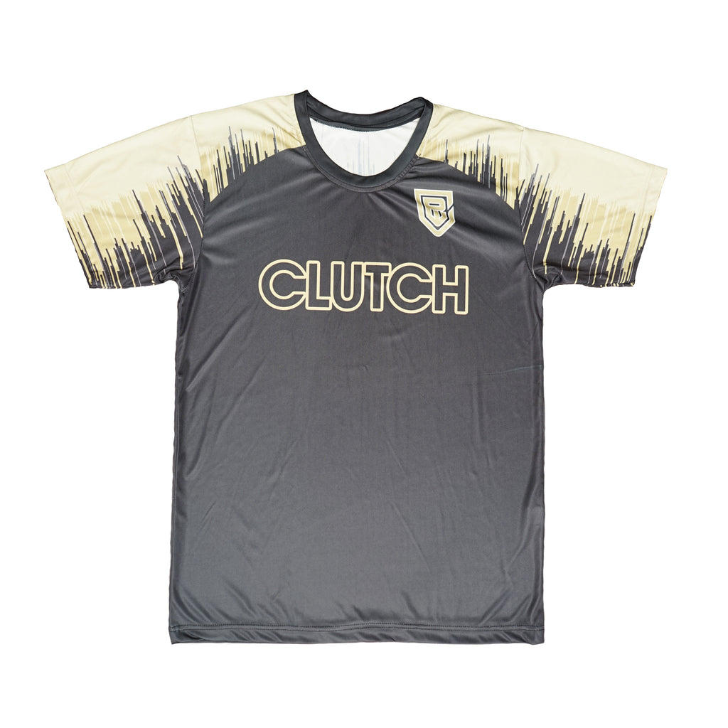 Gray and Yellow Soccer Shirt