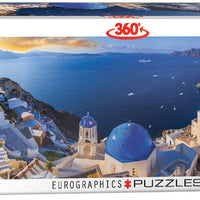 Santorini Greece Puzzle