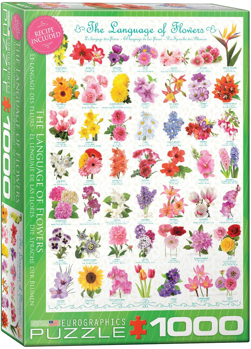 The Language of Flowers Puzzle