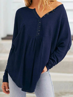 Women Casual Plus Size Tops Tunic Blouse Shirt