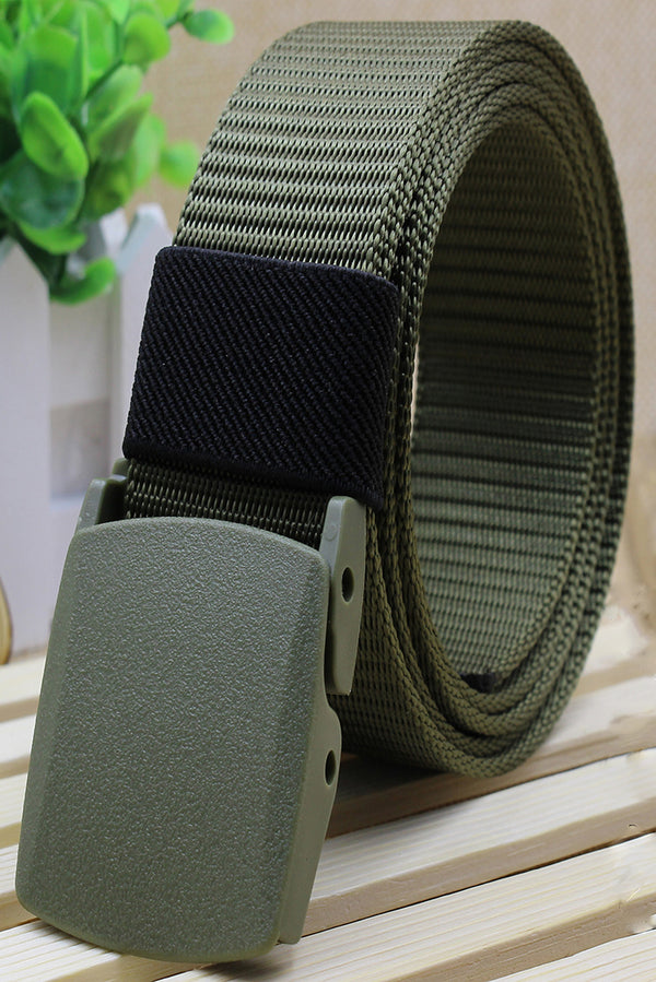 Male and Femal No Metal Buckle Security Check Belts