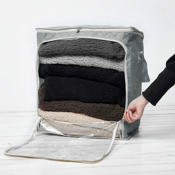 New Non-woven Storage Bag Organizer Bag with Visible Window