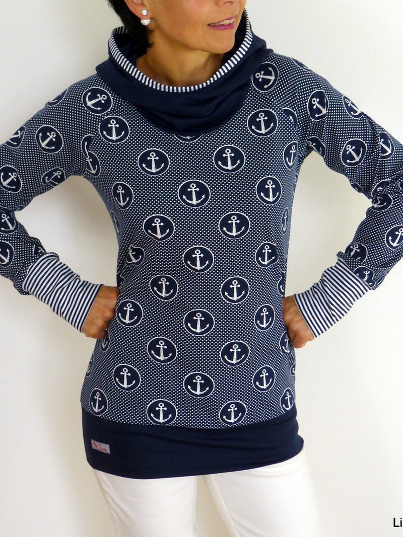 Printed Casual Hoodie Long Sleeve Sweatshirt