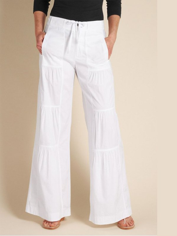Women's  Casual  Solid Loose Trousers