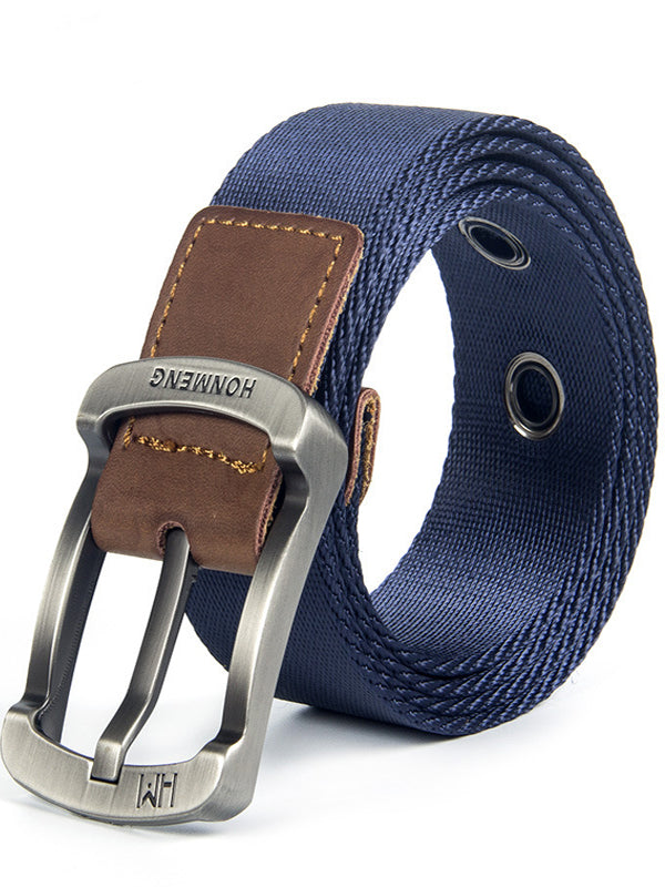 Tactical Belt Men's Nylon Canvas Belt