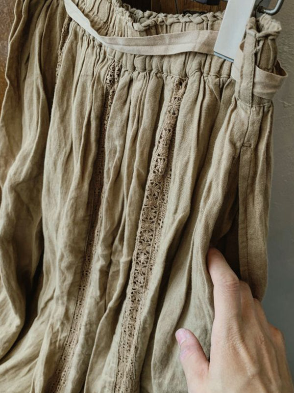Shift Casual Linen Skirts