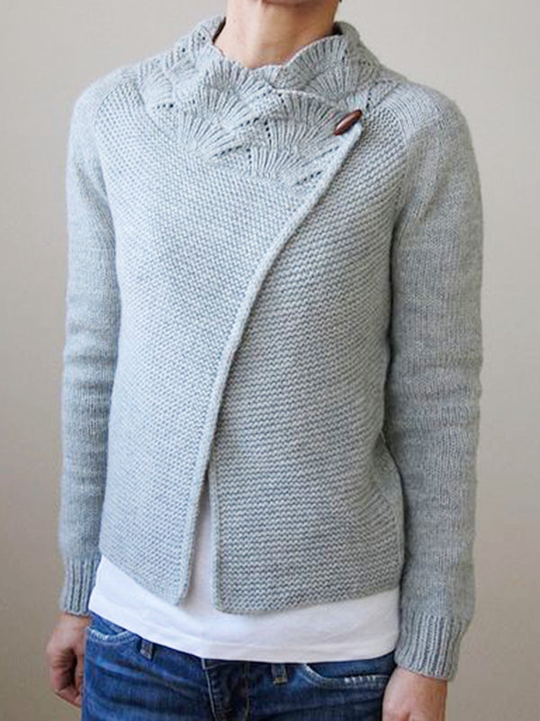 Long Sleeve Cotton Sweater