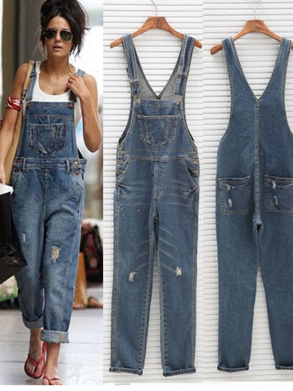 Summer Baggy Denim Jumpsuits