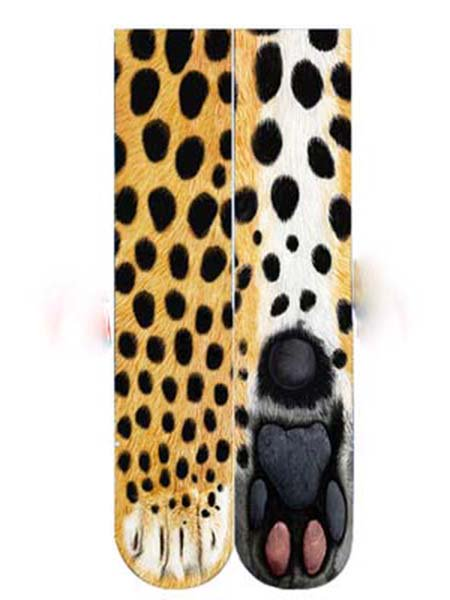 3D Animal Print Stockings