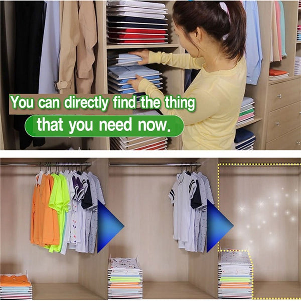 Easy Fold Clothes Storage Board