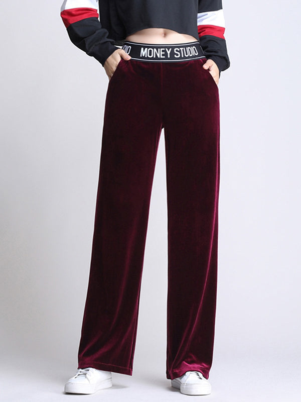 Plus size base Velvet Pants