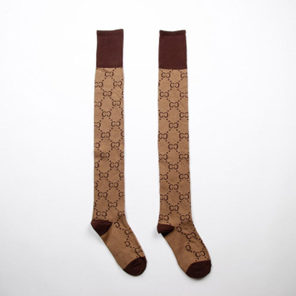 Sweet CC Pattern Outfit Length Socks